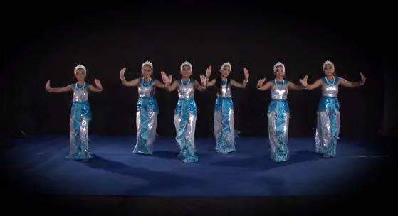 การฝึกหัดนาฏศิลป์ไทยระดับช่วงชั้นที่ 1เพลงระบำเหงือก