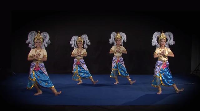 การฝึกหัดนาฏศิลป์ไทยระดับช่วงชั้นที่ 1 เพลงระบำลพบุรี